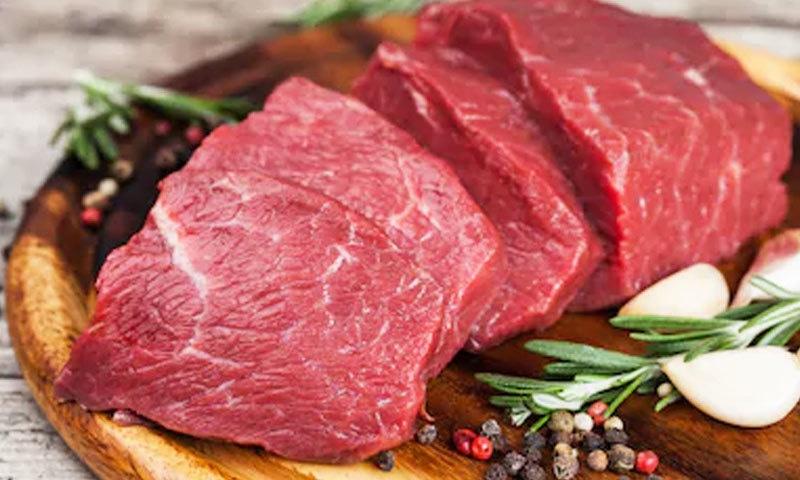 سرخ اور تازہ گوشت صحت کے لیے فائدہ مند ہوتا ہے، ماہرین—فوٹو: شٹر اسٹاک