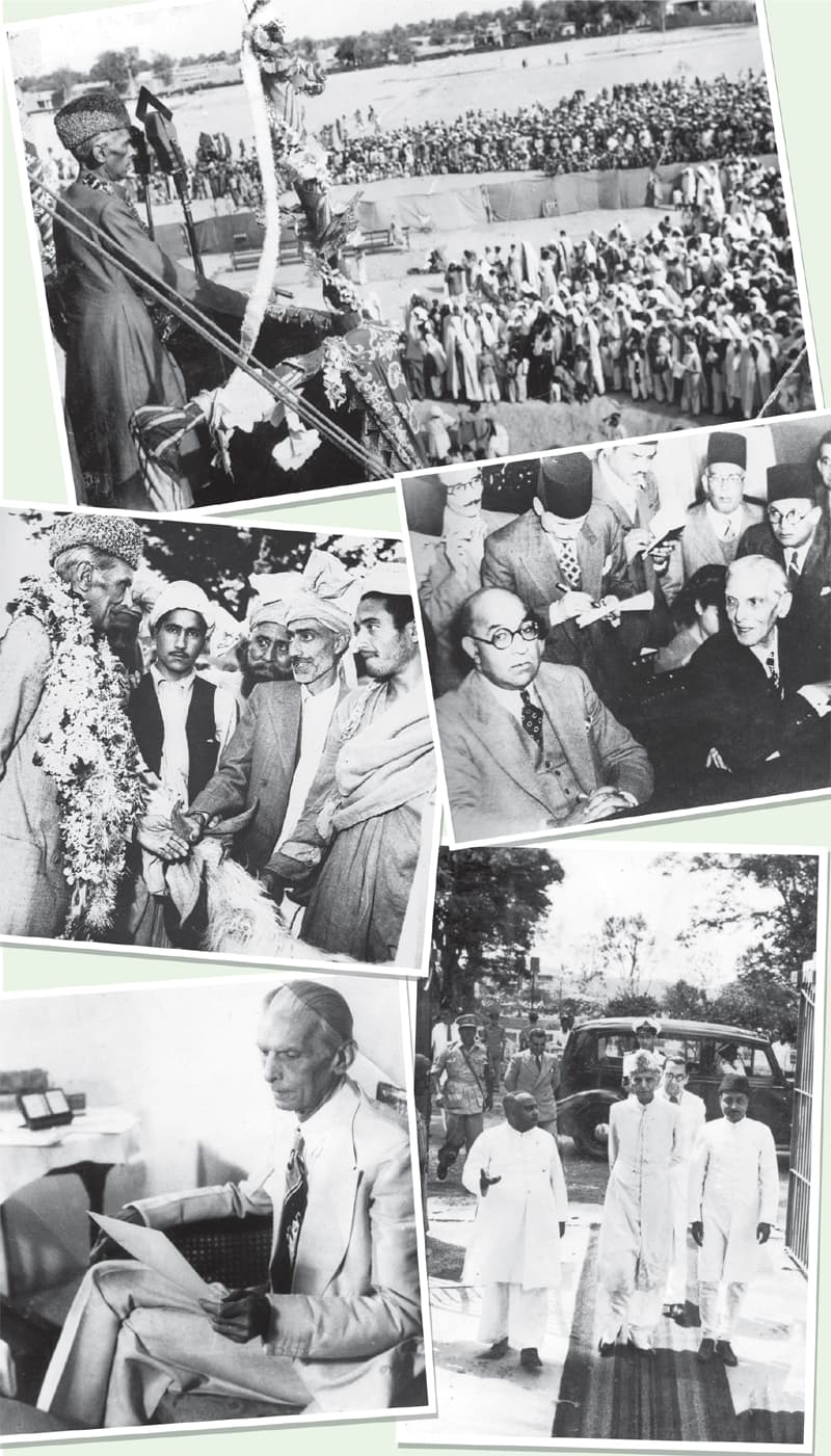 Glimpses of the Quaid's struggle both as a statesman and as a leader of the masses.