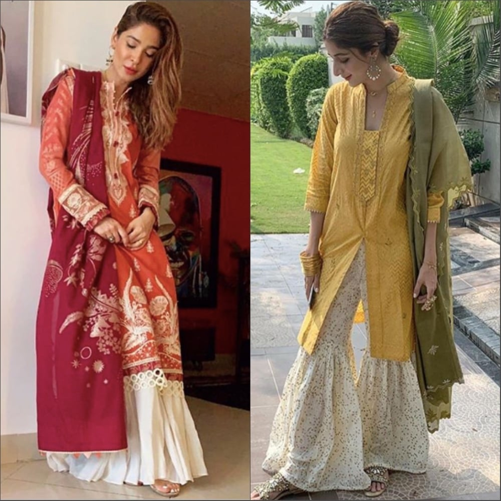 Spotted on Ayesha Omar and Mawra Hocane