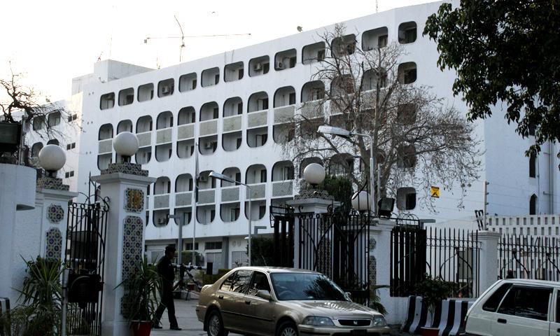 پاکستان نے بھارتی ڈپٹی ہائی کمشنر کے سامنے شدید احتجاج کیا—فائل فوٹو: ڈان نیوز