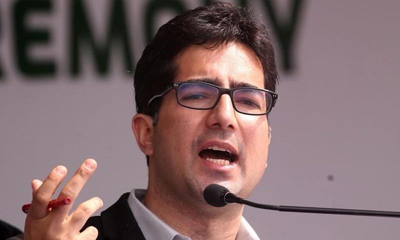 بھارتی حکام یہ بتانے سے قاصرہیں کہ شاہ فیصل کو کس الزام میں گرفتار کیا گیا—فوٹو: رائٹرز