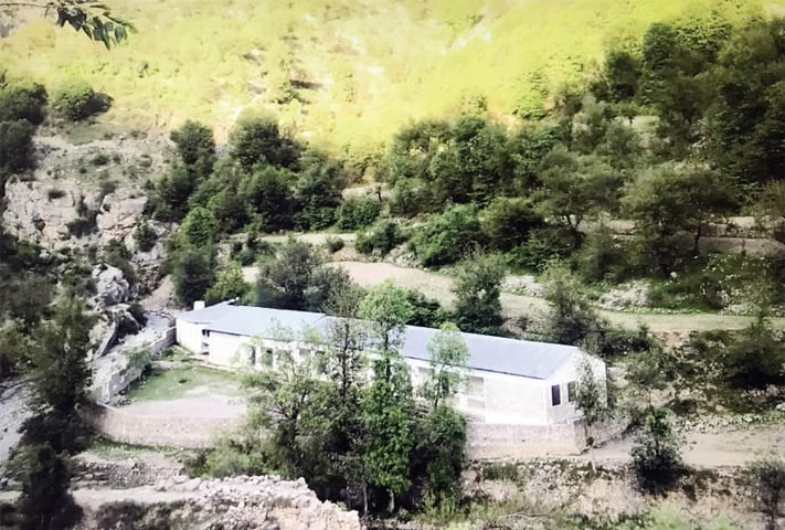 A government middle school in Luzakka Darra of Tirah valley. — Dawn