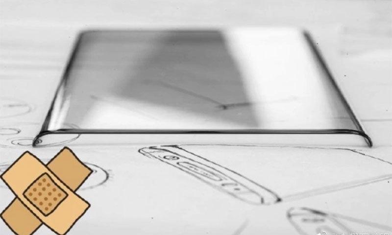 ویوو نیکس 3 کا ڈیزائن — فوٹو بشکریہ ویوو