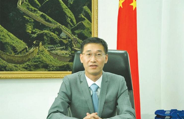 Yao Jing, China's Ambassador to Pakistan.