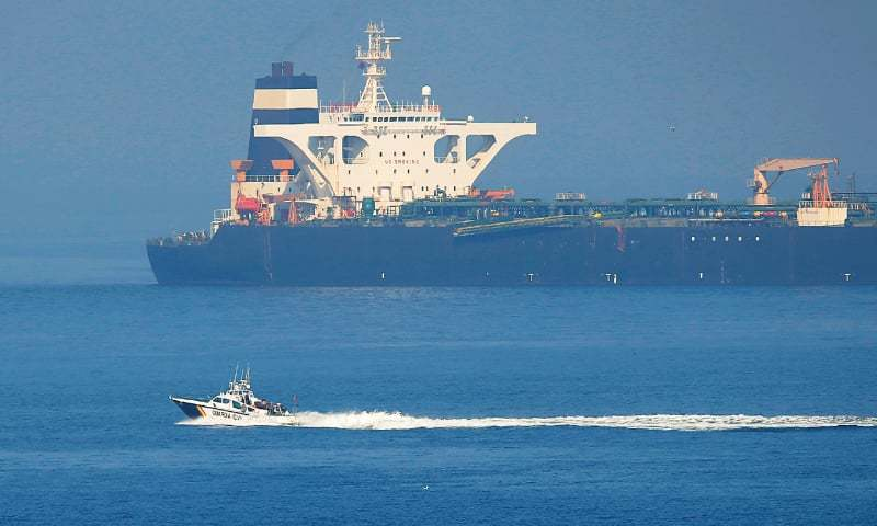 Gibraltar frees Iranian tanker despite United States move