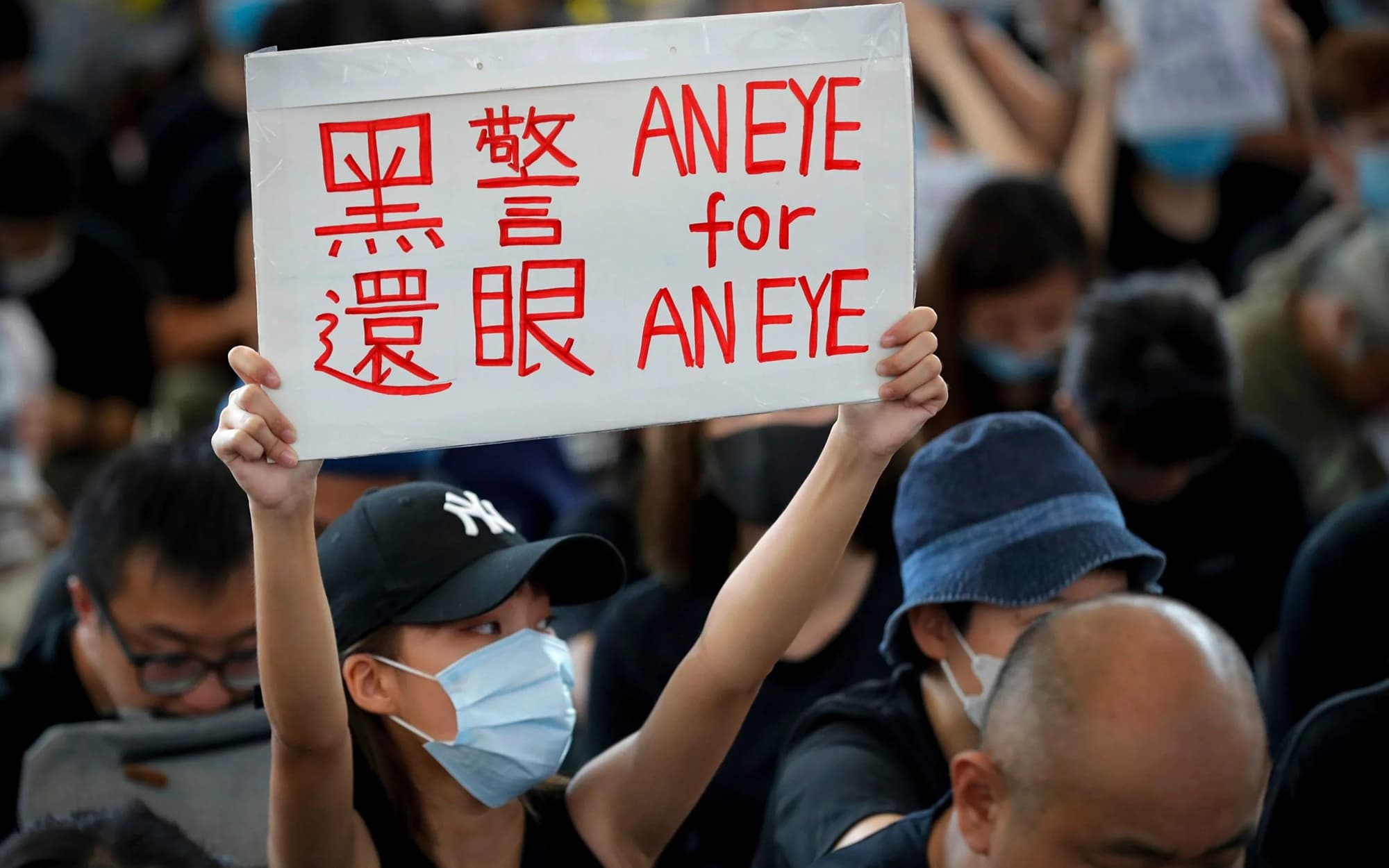 In pictures: Hong Kong protesters face crucial weekend test after airport setback