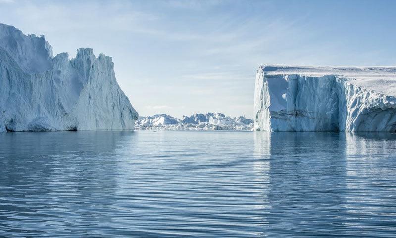 گرین لینڈ کو دنیا کا سب سے بڑا جزیرہ مانا جاتا ہے—فوٹو: ان پلاش