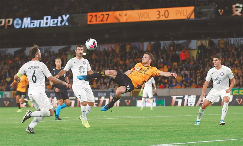Big win sets Wolves up for Europa League playoff with Torino