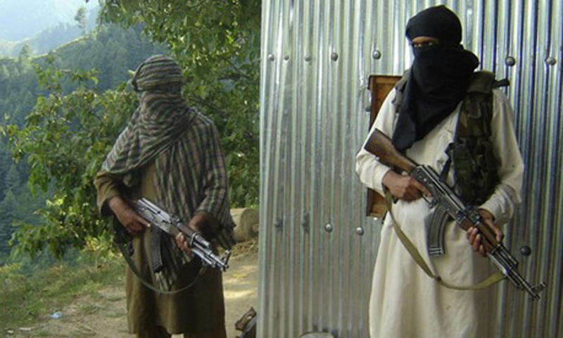Officials say that the security forces came under attack from various locations as they combed the forests. — Dawn/File