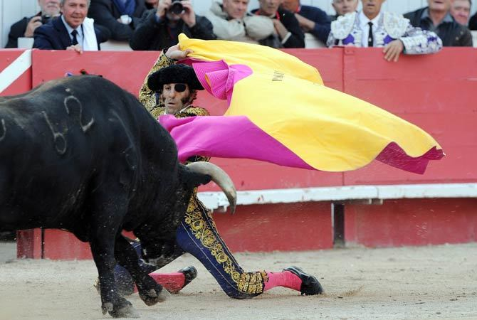 French ministers criticised for attending bullfight