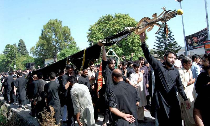 Furthermore, leaves of all police officials have been cancelled for Muharram, which is likely to start on Aug 30. — APP/File
