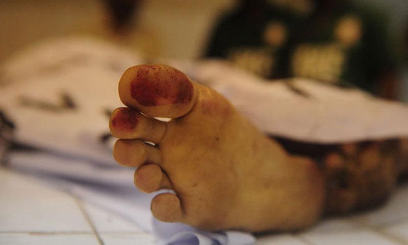 مبینہ چور کی موت سر پر سخت چیز لگنے سے واقع ہوئی  —فائل فوٹو: ڈان نیوز