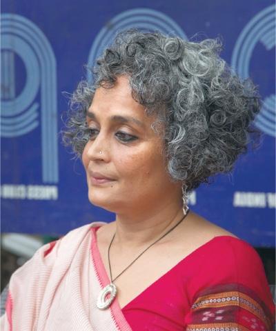 Arundhati Roy | AP