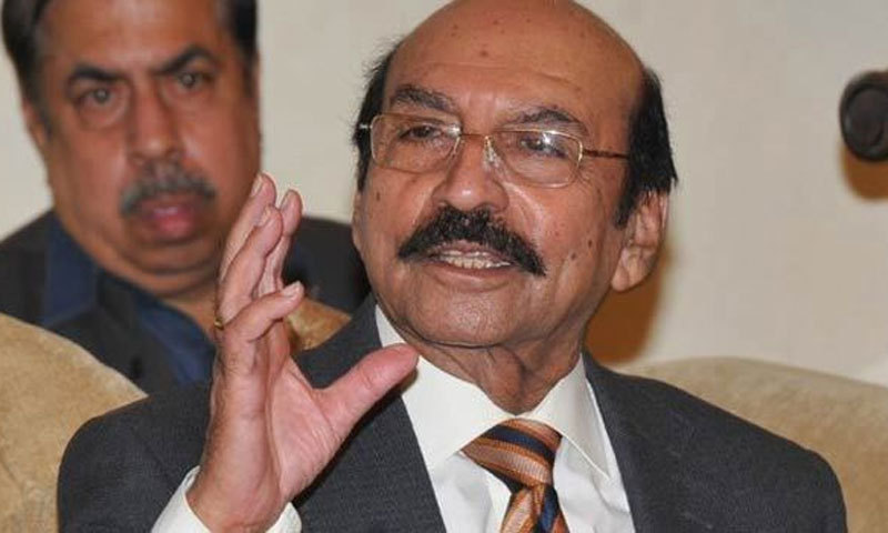 Former chief minister of Sindh Syed Qaim Ali Shah on Saturday filed a pre-arrest bail petition before the Islamabad High Court (IHC) in the fake bank accounts case. — APP/File