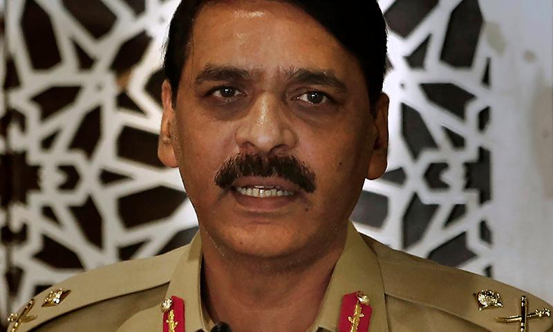 ڈی جی آئی ایس پی آر کے مطابق کشمیر کی حمایت میں بولنے والے اکاؤنٹس کو بند کیا جارہا ہے۔ — فائل فوٹو: اے پی