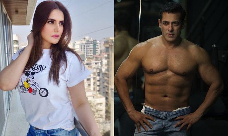 زرین خان نے اپنی ڈیبیو فلم میں سلمان خان کی ہیروئین کا کردار نبھایا تھا—تصویر: انسٹاگرام