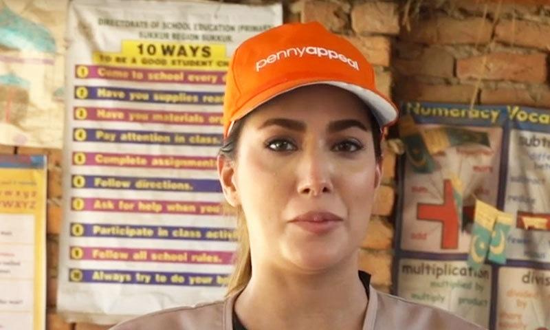 اداکارہ کا کہنا تھا کہ پاکستان میں کم عمری میں بچیوں کی شادیاں کرنے اسے انہیں مسائل کا سامنا کرنا پڑتا ہے — اسکرین شاٹ