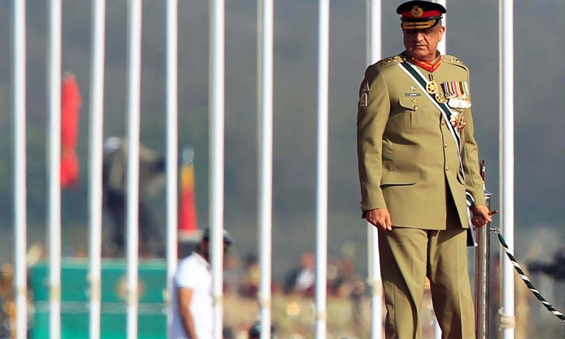 Army Chief Gen Qamar Javed Bajwa was appointed as the chief of army staff in November 2016. — Reuters/File