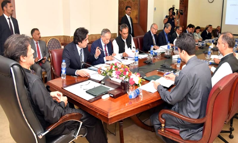 Prime Minister Imran Khan on Monday announced that the government was forming a 'China-Pakistan Economic Corridor Authority (CPECA)' to ensure timely completion of corridor's projects. — Photo courtesy Radio Pakistan