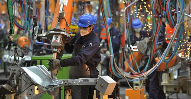 In June, the last month of the outgoing fiscal year, the big industry posted a negative growth of 5.05pc. — AFP/File