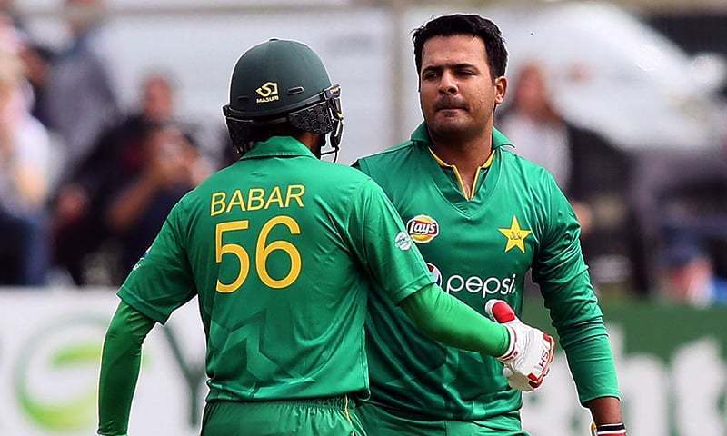 Sharjeel was suspended from national and international cricket for five years by the PCB in 2017. — AFP/File