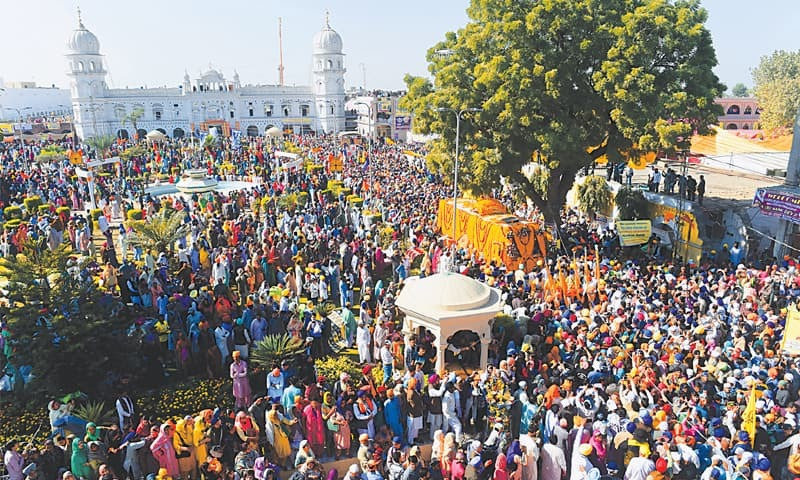 The Punjab government is keenly emphasising religious tourism. — Dawn/File