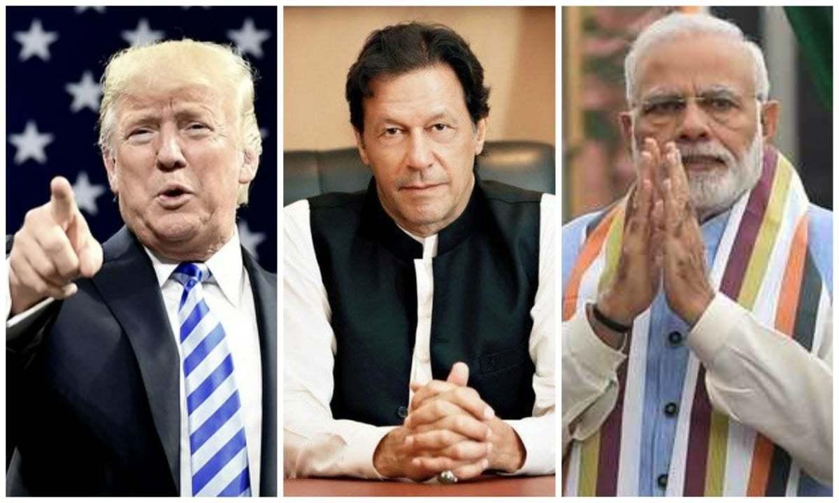 امریکی صدر کے مطابق کشمیر کے معاملے پر پاکستانی اور بھارتی وزیراعظم سے تبادلہ خیال کیا اور یہ بات چیت مثبت رہی — فائل فوٹو/ہیرالڈ