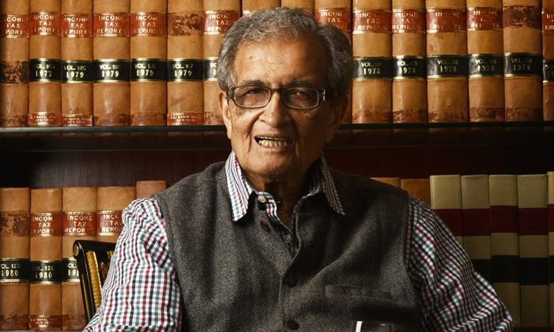 بھارتی نوبل انعام یافتہ ڈاکٹر امرتیا سین کے مطابق ہم اپنی مقبولیت اپنے ہی اقدامات کی وجہ سے کھو رہے ہیں — فوٹو بشکریہ ہندوستان ٹائمز