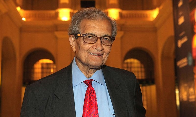"Indian economist and Nobel laureate Amartya Sen says India """"lost the reputation"" of being the world's first non-Western country to adopt a democratic system. — Photo courtesy Wikimedia Commons"