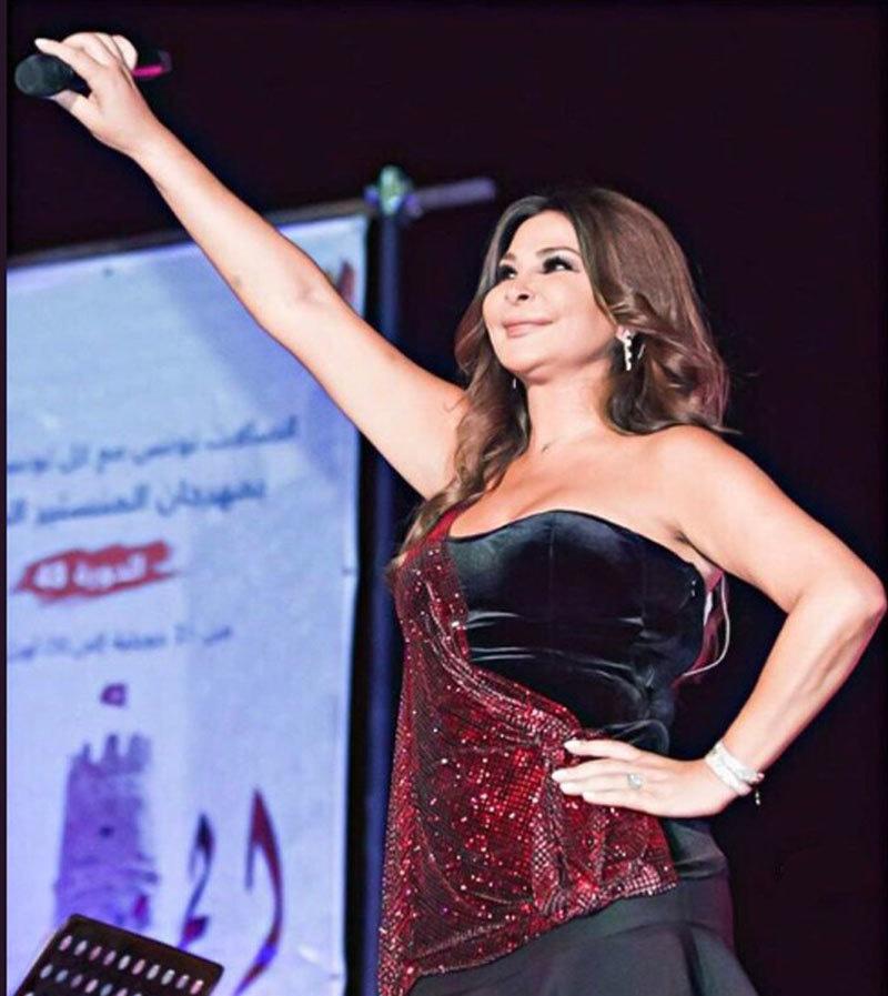 ایلسا عرب دنیا کی مقبول ترین گلوکارہ ہیں—فوٹو: ٹوئٹر