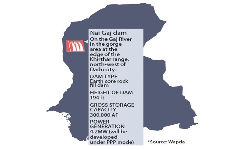 نئی گج ڈیم کی ابتدائی لاگت 17 ارب روپے تھی — فوٹو: ڈان اخبار