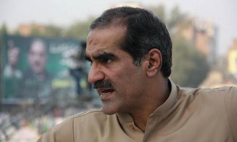 During the previous hearing, an accountability court had delayed the indictment due to absence of Khwaja Saad. — AFP/File