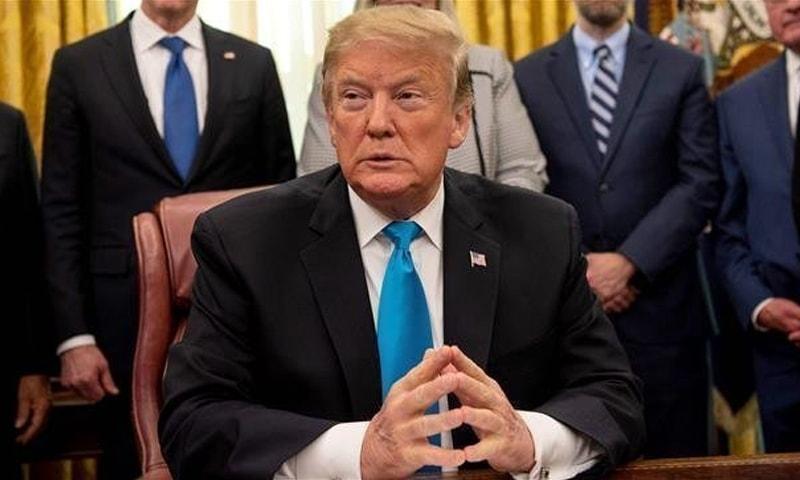 امریکی صدر کا کہنا تھا کہ مجھے لگتا ہے کہ ہم بھارت اور پاکستان کے درمیان صورتحال کو بہتر کرنے کے لیے مدد کر رہے ہیں — فائل فوٹو/اے ایف پی