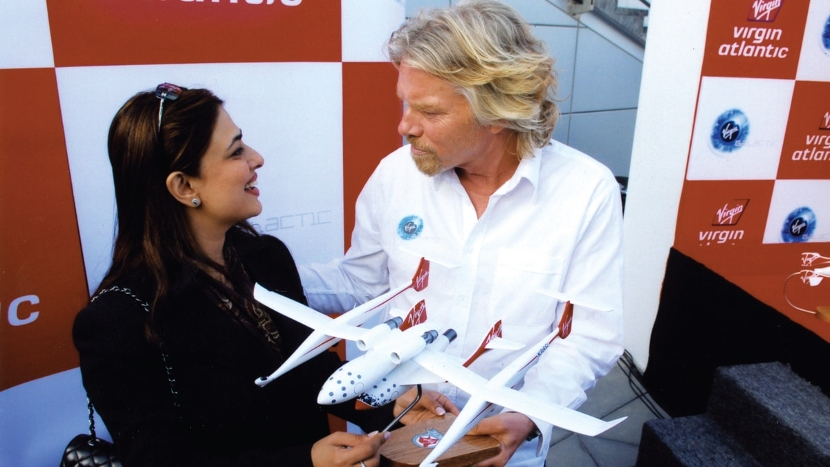 Salim thinks Virgin Galactic will mark the advent of the commercial spaceflight, making private spaceflight affordable
