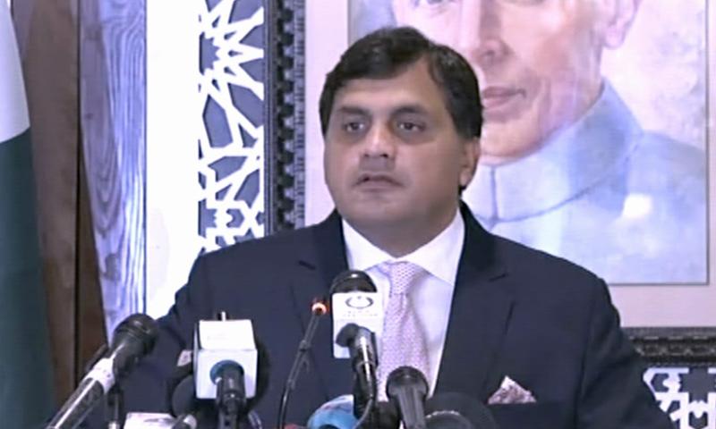ڈاکٹر محمد فیصل کے مطابق پاکستان کرتارپور راہداری جلد کھولنے کا خواہشمند ہے — فوٹو: ڈان نیوز