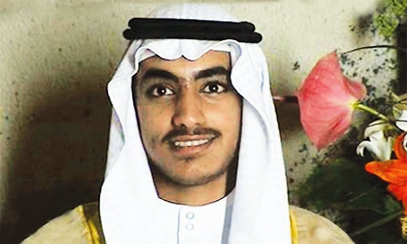 In this image from video released by the CIA, Hamza bin Laden is seen as an adult at his wedding. — AP/File