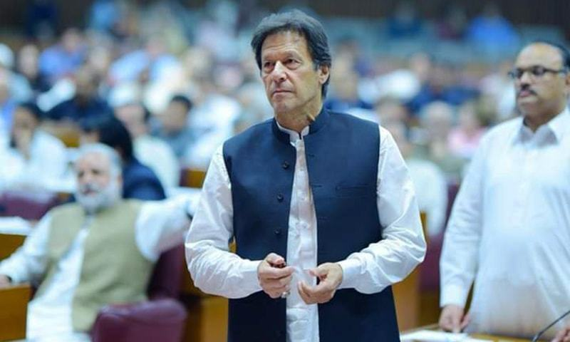 Prime Minister Imran Khan will launch the Kamyab Naujawan Programme next month. — Photo courtesy PTI/File