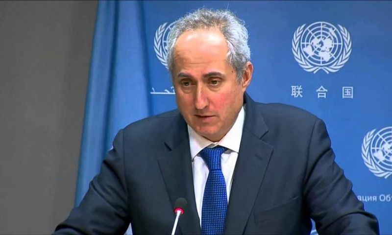 Stephane Dujarric, the spokesperson for Secretary-General Antonio Guterres, made the statement in response to a reporter's question. — AFP/File