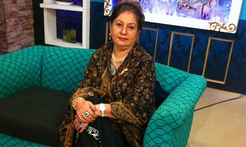 مسز خان مشہور رشتہ کرانے والی خاتون ہیں —فوٹو بشکریہ/ فیس بک