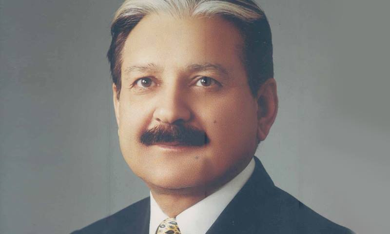 Chief Election Commissioner retired Justice Sardar Mohammad Raza. — Photo courtesy of ECP