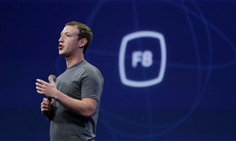 فیس بک کے سربراہ مارک زکربرگ بھی اس حقیقت کو چھپاتے رہے تھے — اے پی فائل فوٹو