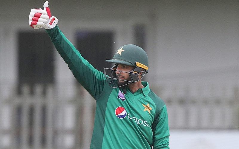 عماد وسیم کا نکاح برطانوی نژاد پاکستانی ثانیہ اشفاق سے ہوا ہے— فائل فوٹو: اے ایف پی