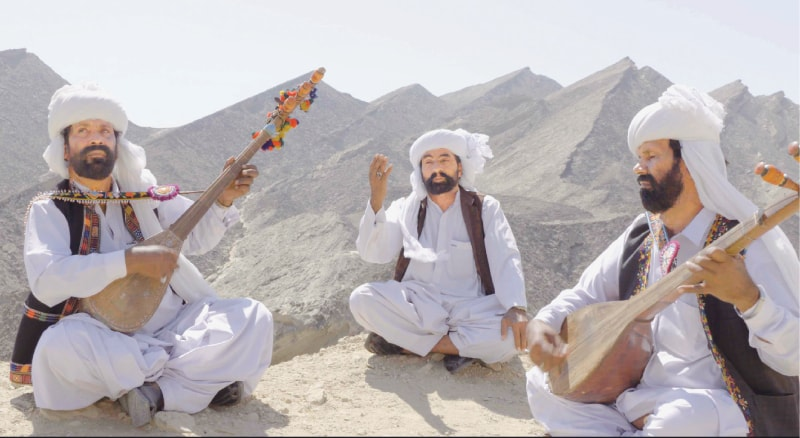 Mangal, Darehan and Shayan from Balochistan