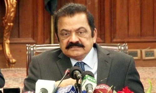 A special court for Control of Narcotics Substance on Saturday issued a notice to the Anti-Narcotics Force on bail petition of PML-N leader Rana Sanaullah Khan in a narcotics case. — DawnNewsTV/File