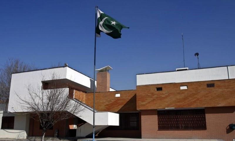 پاکستان نے گزشتہ برس جلال آباد میں اپنا قونصل خانہ احتجاجاً بند کردیا تھا—فائل/فوٹو:ڈان نیوز