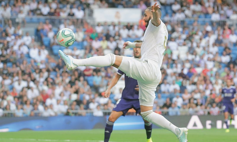 Rodriguez returns but Real Madrid held in home opener