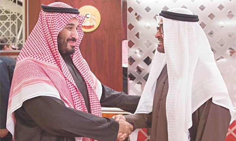 محمد بن سلمان اماراتی ولی عہد کو اپنا سرپرست مان کر ان کے اشاروں پر چلتے رہے
