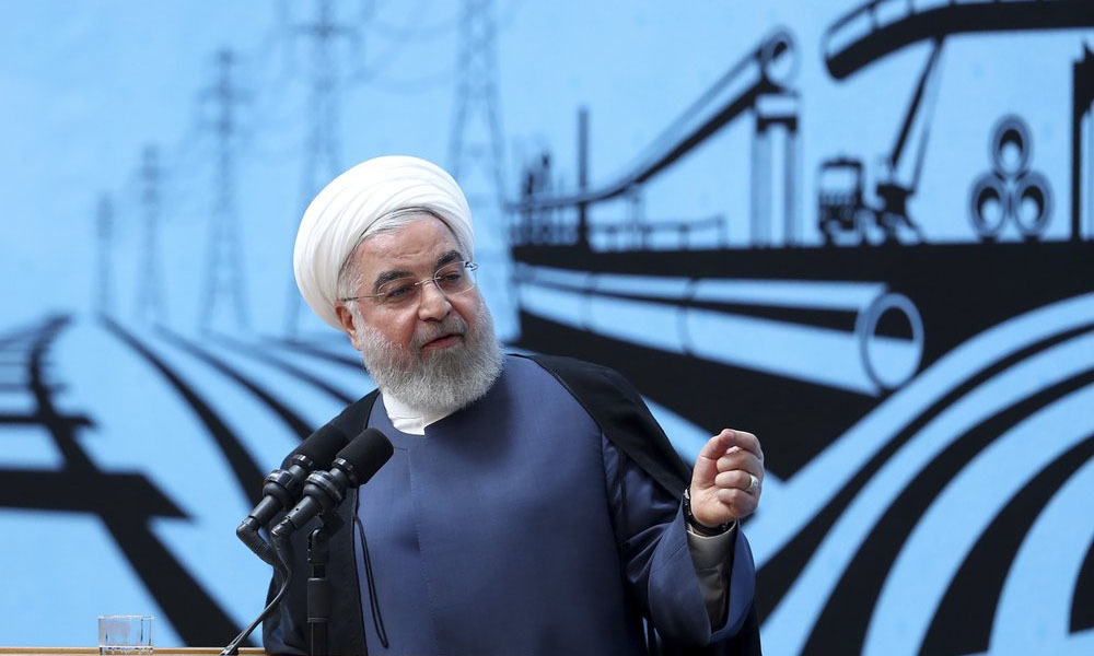 First lift sanctions, then let's talk: Iran's Rouhani to US