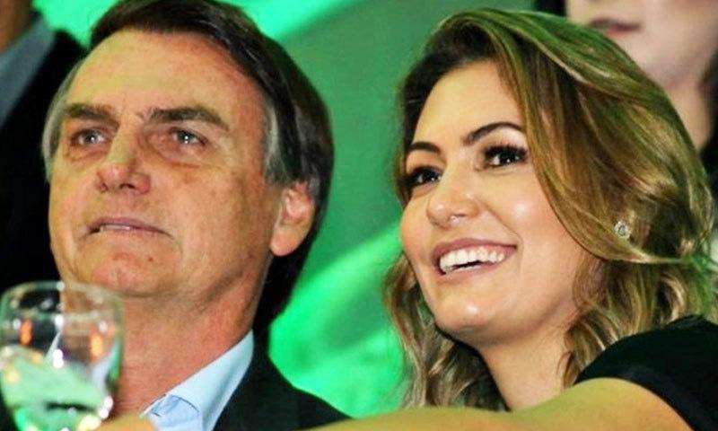 برازیلی صدر کی اہلیہ دنیا کی نوجوان خواتین اول میں شمار ہوتی ہیں—فوٹو: پرتگال نیوز