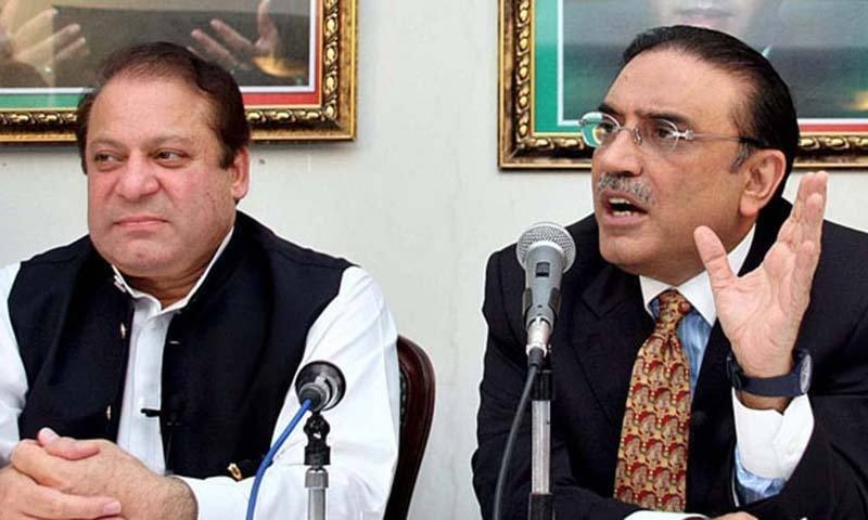 The Pakistan Muslim League-Nawaz and Pakistan Peoples Party have accused the Pakistan Tehreek-i-Insaf government of not providing adequate health facilities to their leaders — Nawaz Sharif and Asif Ali Zardari — saying 'selected' Prime Minister Imran Khan will be responsible if anything happens to them. — Reuters/File